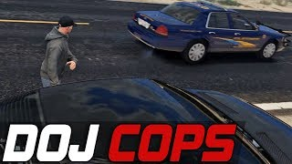 Dept. of Justice Cops #409 - Joy Ride