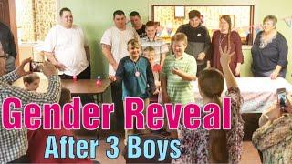 Gender Reveal after 3 boys....Egg Roulette