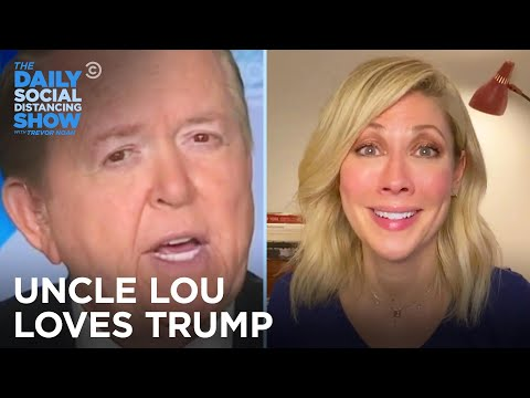 Desi Checks In on Her Trump-Obsessed Uncle Lou Dobbs | The Daily Social Distancing Show