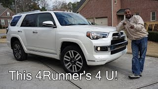 2017 Toyota 4Runner 4x4 Limited V6 Review - This 4Runner's 4 U!