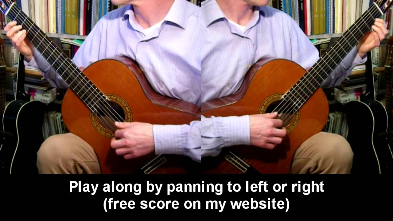 six spanish duets easy guitar youtube. Black Bedroom Furniture Sets. Home Design Ideas