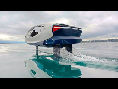 Electric WATER TAXI.You Must See It