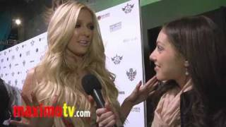 ERIKA JAYNE Interview at The Black Eyed Peas Peapod 2011