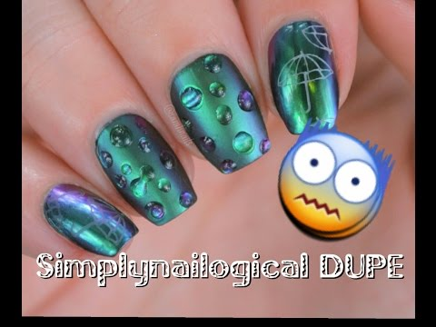 SimplyNailogical DUPE! |Gel Free Rain Drop Multi Chrome  | Sam H Nails