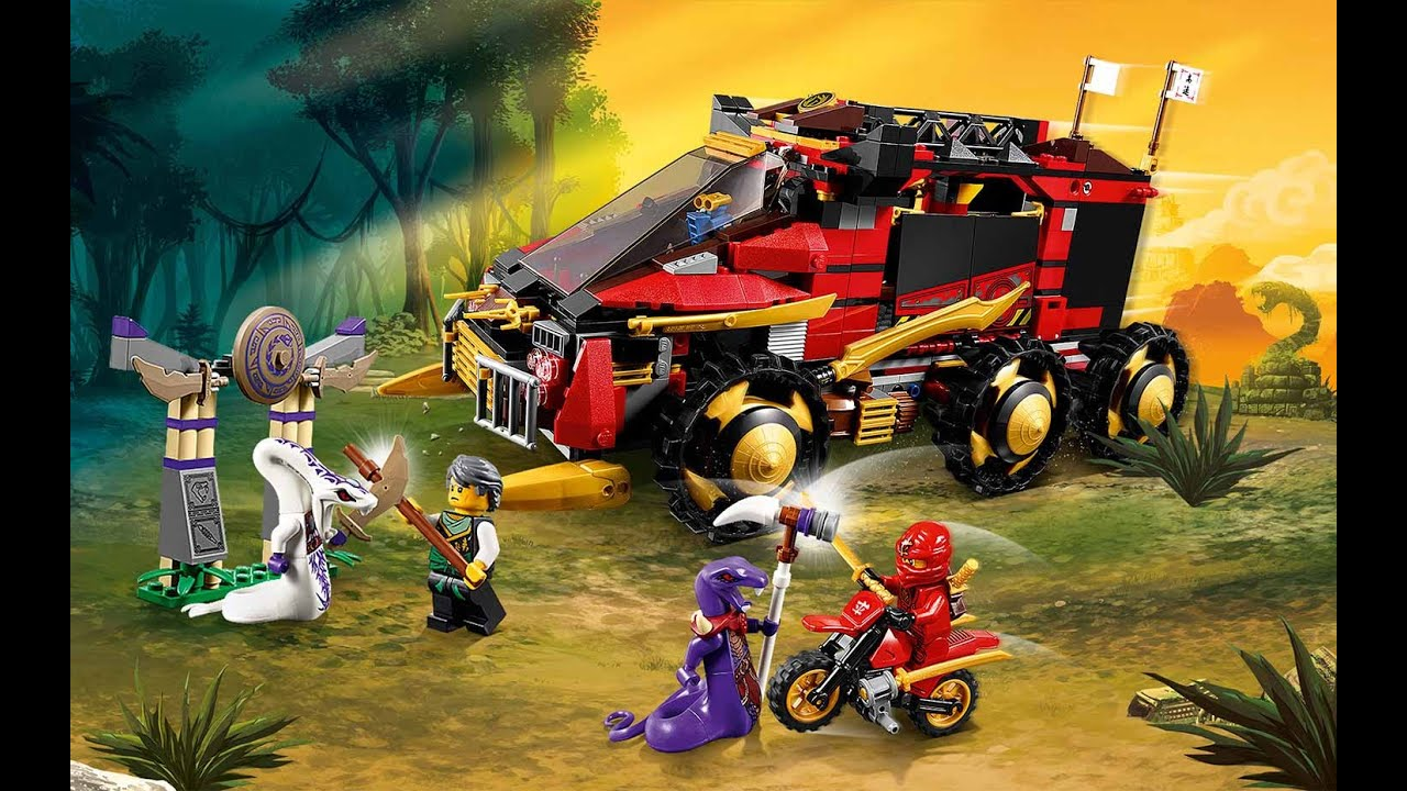 Lego Ninjago Set Review 70750 Ninja Dbx Youtube