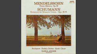 Romanzen für Frauenstimmen - Zweites Heft der Romanzen Op. 91 - Der Bleicherin Nachtlied