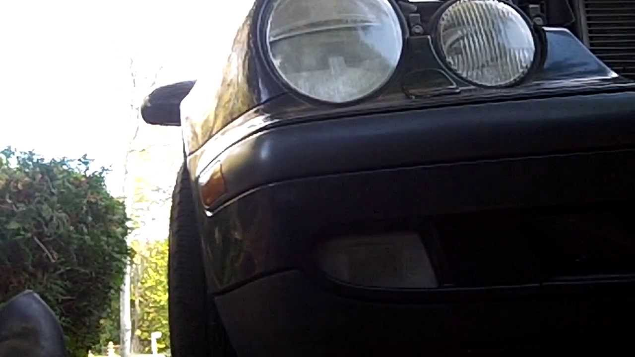 mercedes clk 320 w208 series xenon headlight bulb replacement [ 1280 x 720 Pixel ]