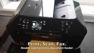 Canon MX922 Unpacking and Setup