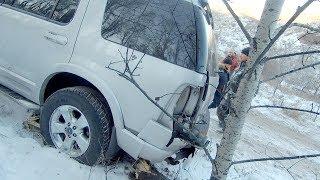 Когда деревья мешают покатушкам... Ford Explorer, Lexus LX470, Nissan Terrano, ГАЗ-21. OffRoad
