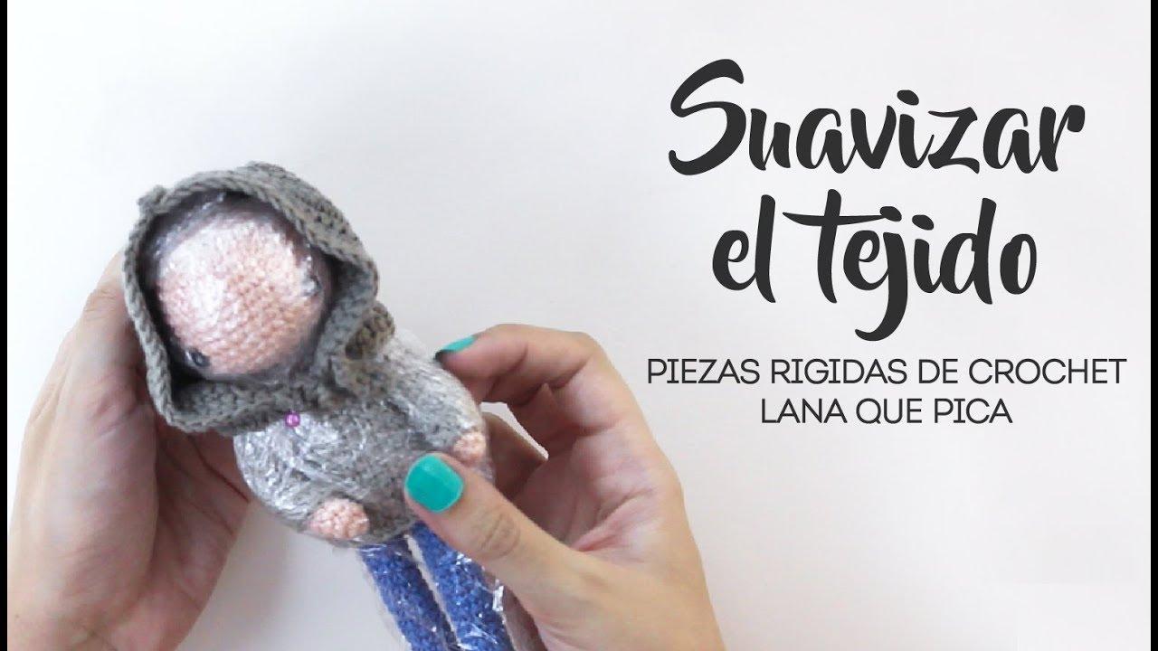 Cómo Ablandar El Tejido A Crochet Suavizar Lana Que Pica Youtube