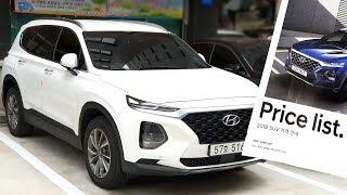 Первый взгляд на Hyundai Santa Fe 2018 / Цены в Корее, Экстерьер, Интерьер