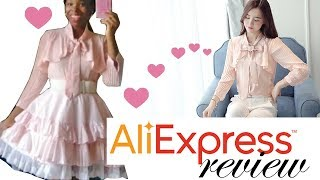 Aliexpress kawaii style blouse review! Shot on my phone.