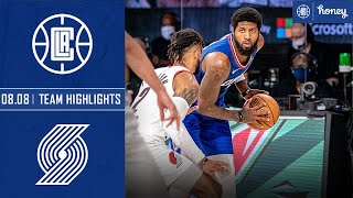 Rodney McGruder Drains Late Three to Lift Clippers Over Blazers | Honey Highlights