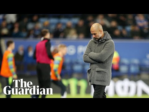 'There are better teams': Pep Guardiola reacts to Man City loss at Leicester