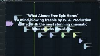 Free Epic Horns FL Studio Preview [50 Cinematic / Movie / Alien Horn Samples & Stabs]