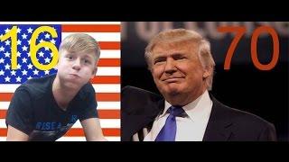 ДОНАЛЬД ТРАМП В ДЕТСТВЕ/DONALD TRAMP WHEN HE WAS A CHILD