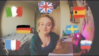 how I am learning 7 languages