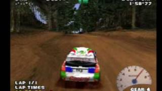 V-Rally 2 [PS1] Gameplay
