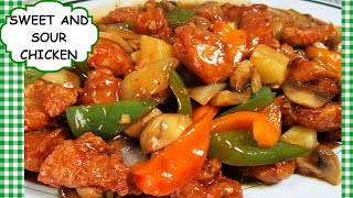 Chinese Sweet and Sour Chicken Stir Fry Recipe Restaurant Style