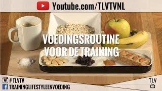 Voedingsroutine voor de training