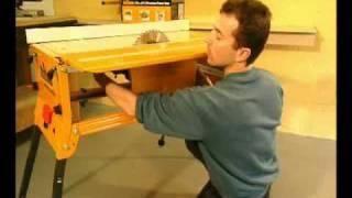Triton WCA201 Workcentre Series 2000 Table Saw