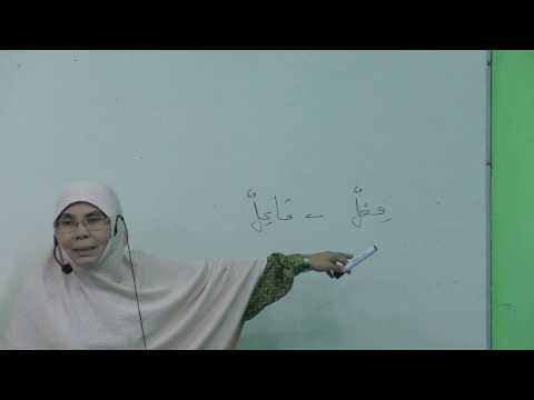 Bahasa Arab - Fi'il Madhi & Fi'il Mudhari'
