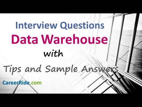 Data Warehouse Interview Questions And Answers - For Freshers And Experienced Candidates