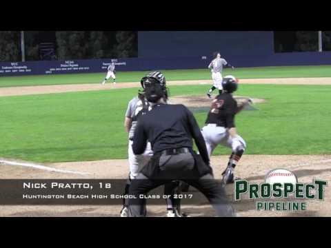 Nick Pratto, 1b, Huntington Beach High School Class of 2017, Home Run at USD
