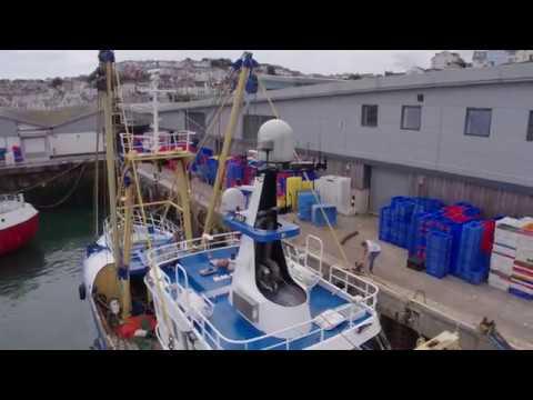 England's Seafood Coast - Brixham Trawler Unloading