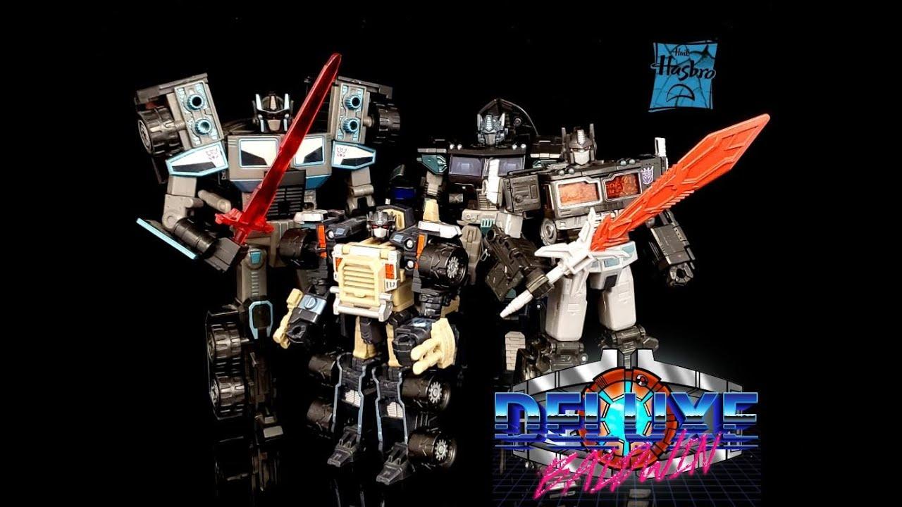 Transformer Nemesis Prime - Netflix Siege VS Armada VS RID VS Classics by Deluxe Baldwin