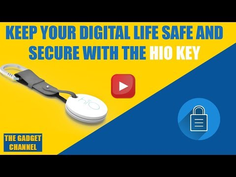 Keep your digital life safe and secure with the Hio key