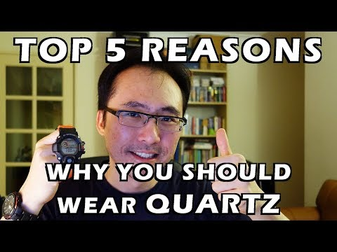 Top 5 Reasons Why You Should Wear Quartz Watches - Perth WAtch #97