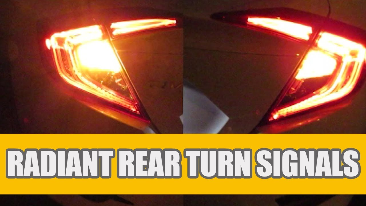 The Newest No Hyper Flash Cree Error Free Canbus LED Turn Signal Light Bulb Lamp