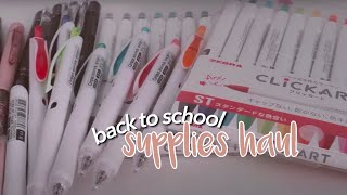 back to school supplies haul ✍🏼online classes