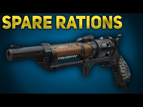 Spare Rations Review - Gambit Prime Hand Cannon | Destiny 2 Jokers Wild thumbnail