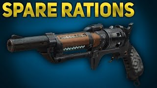 Spare Rations Review - Gambit Prime Hand Cannon | Destiny 2 Jokers Wild