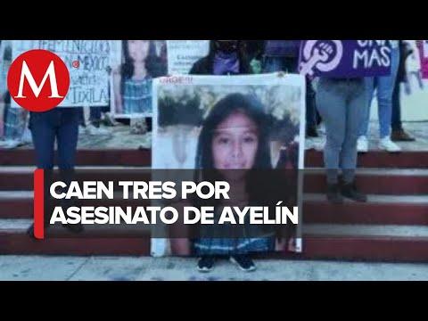 Hay tres detenidos por asesinato de Ayelín