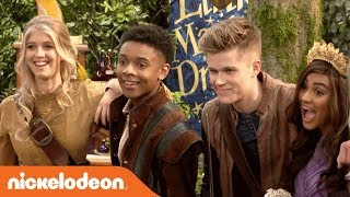 Go BTS on Nick's BRAND-NEW Show 'Knight Squad' 🛡️ | Premieres Feb. 24th! | Nick