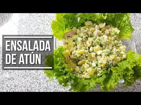 🥗 Ensalada de Atún - Para acompañar frituras | Estilo Marilin