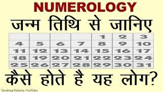 जन्म तिथि से जानिए अंक ज्योतिष मूलांक 1 से 9  Numerology 1 to 9