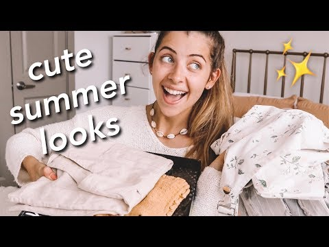 QUICK + EASY SUMMER LOOKS!