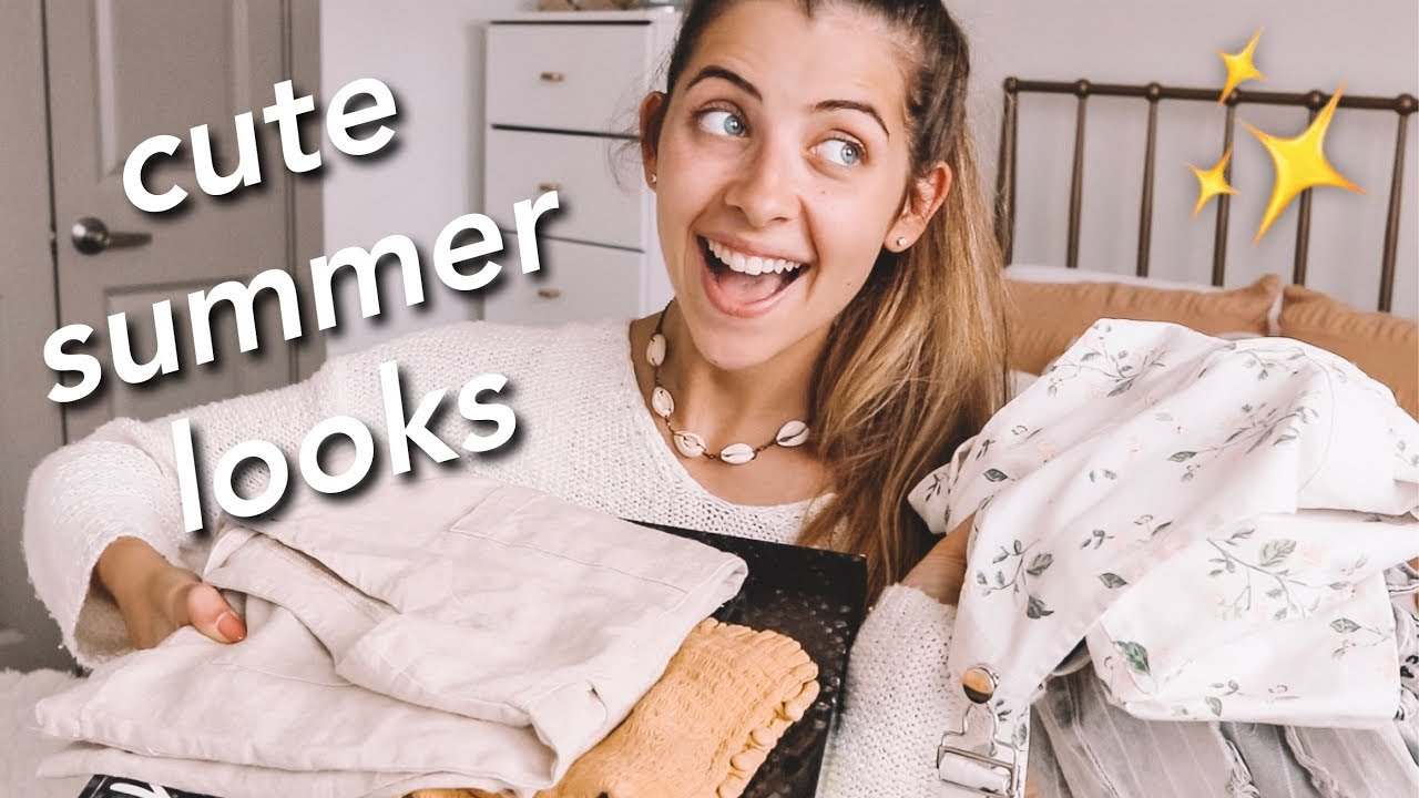 QUICK + EASY SUMMER LOOKS!