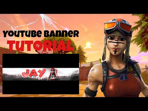 How To Make A Fortnite Banner - PicsArt On (IOS & Android)