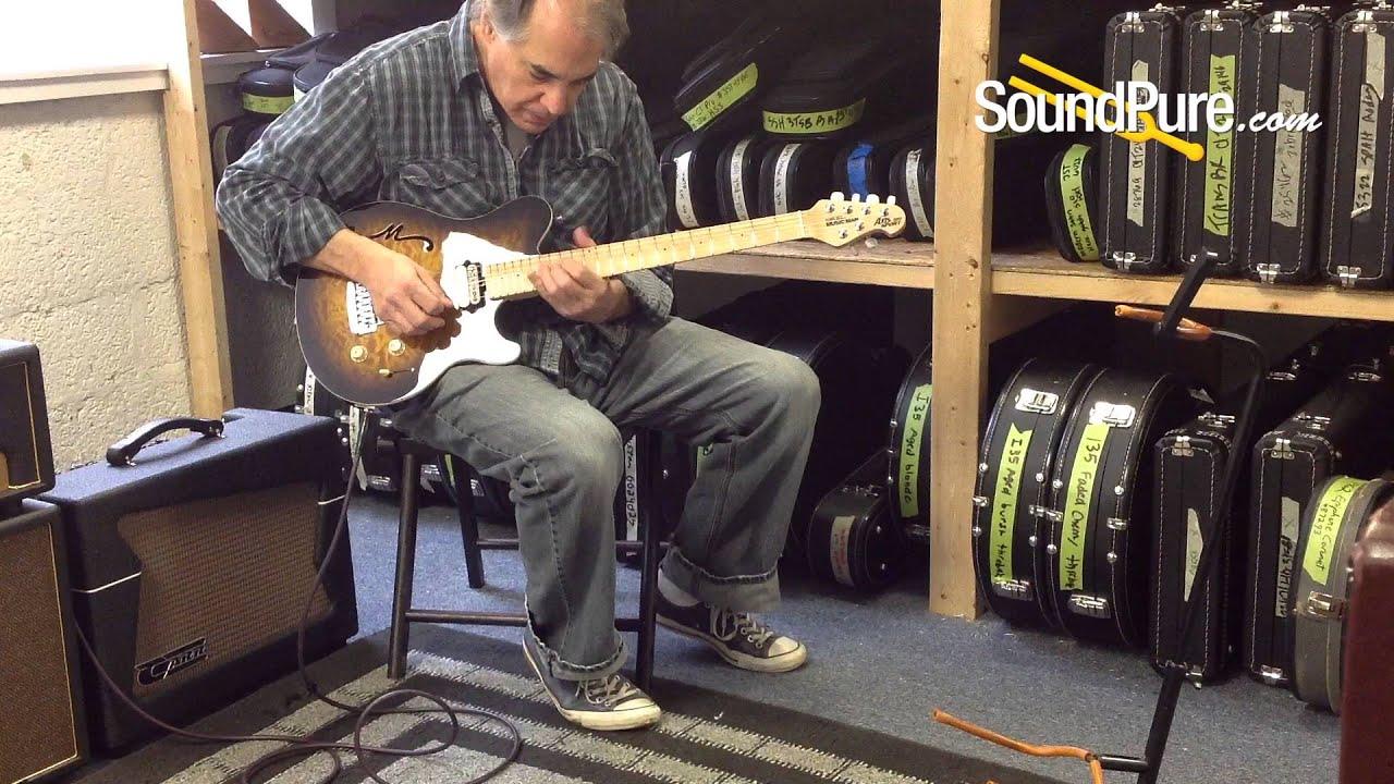 Ernie Ball Music Man Axis Super Sport Semi Hollow Guitar Quick N