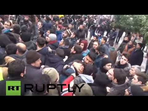Turkey: Scuffles erupt at Istanbul protest against Sheikh Nimr's execution