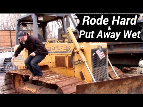 Testing Heavy Equipment - Case Excavator, Bulldozer, Tractor Review