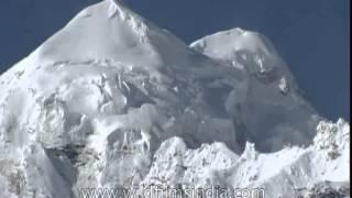 High peaks of the Zanskar range as seen from Padum