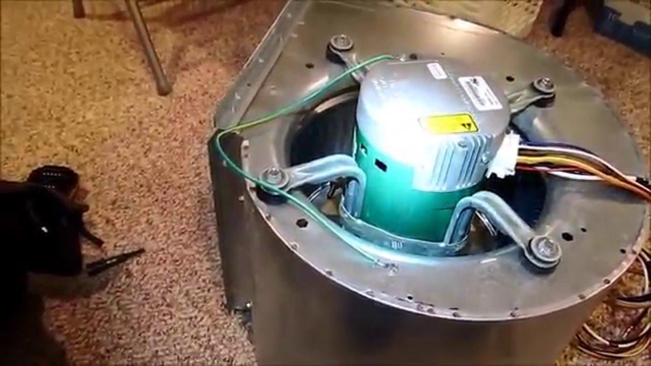evergreen ecm blower motor install on a 2 stage goodman [ 1280 x 720 Pixel ]