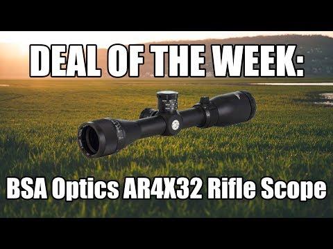 Deal Of The Week - BSA Optics AR4X32 Tactical Rifle Scope $20.99