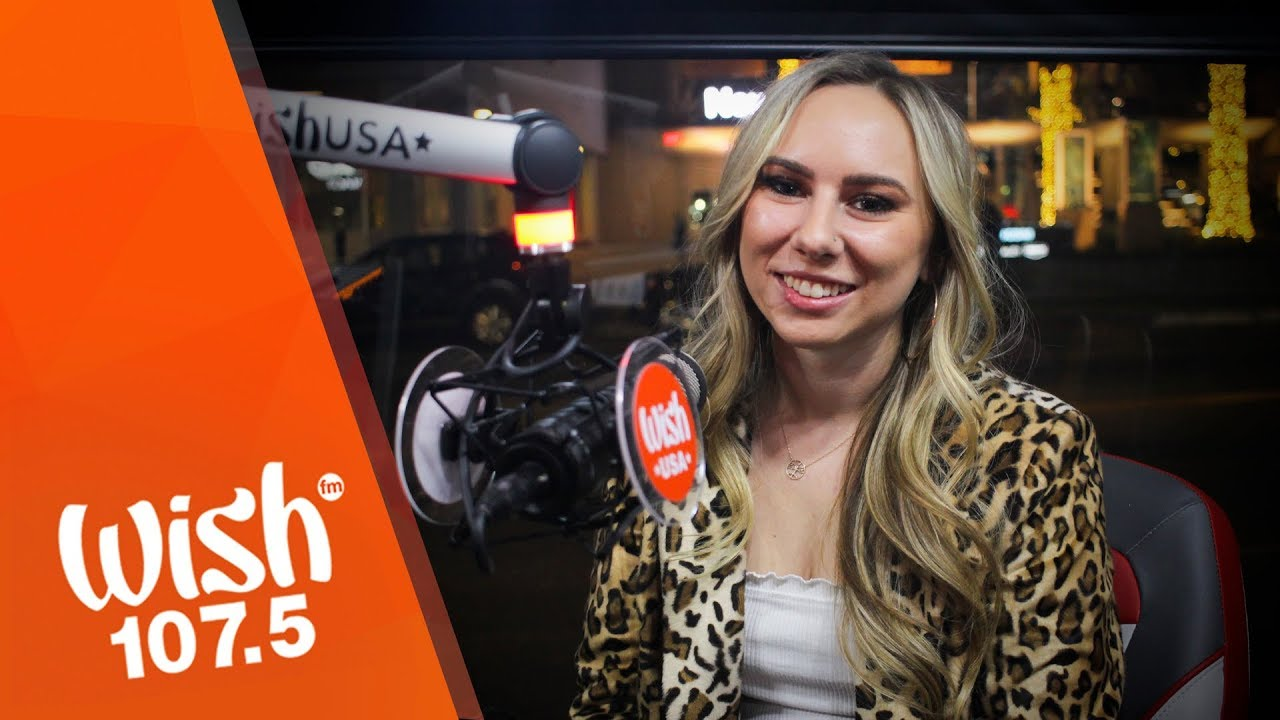 "Sofie Lynn performs ""Rooting For You"" LIVE on Wish 107.5 Bus USA"